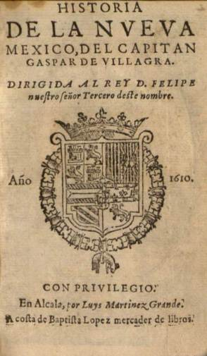 Perez Villagra - Historia 1610