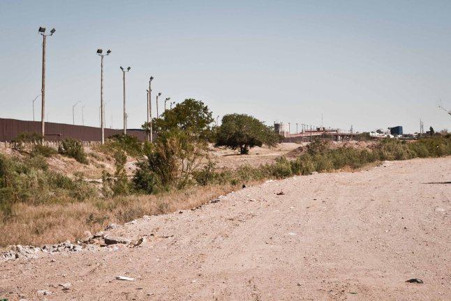 Rio Bravo - cuenca seca
