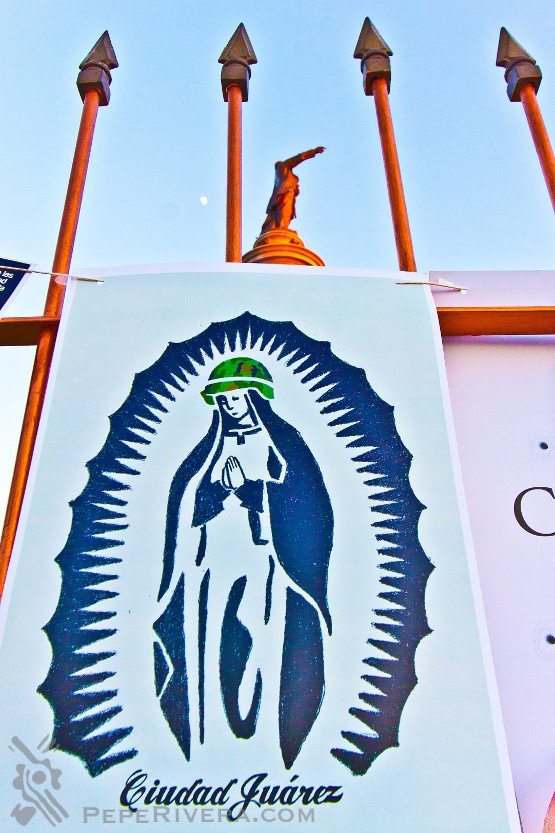 123 Virgen monu