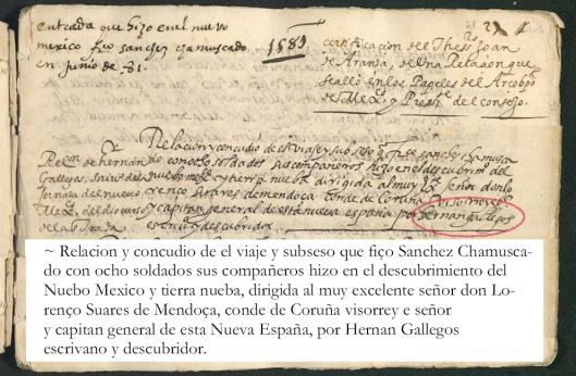 125 Gallegos - Relacion expedicion