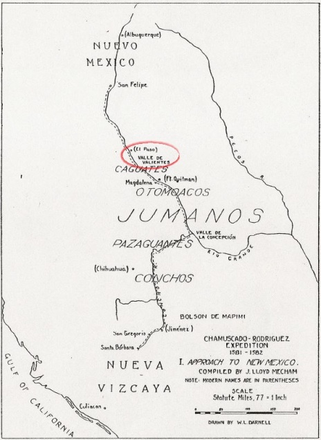 125 Mapa Chamuscado