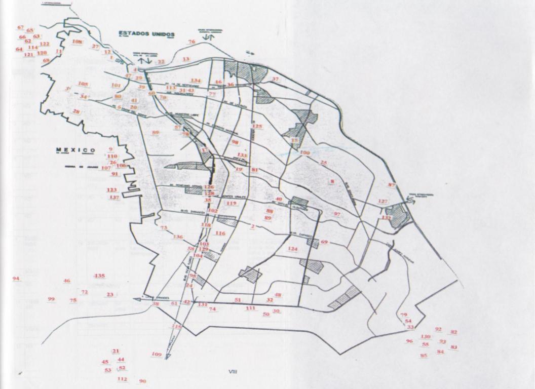 136 Mapa feminicidios 1999