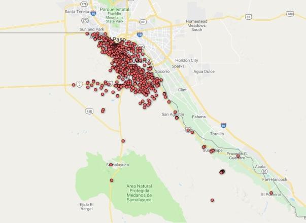 136 Mapa feminicidios 2018