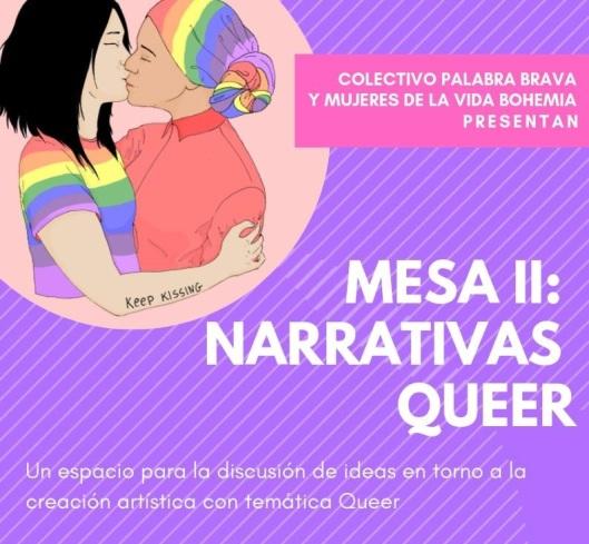 Palabra Brava - Narrativas queer