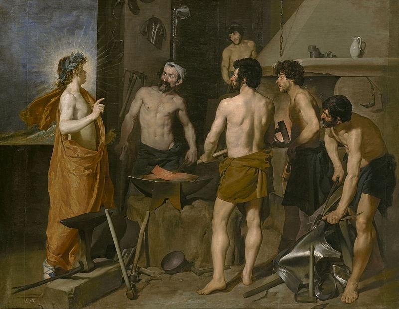 33 Velázquez La fragua de Vulcano